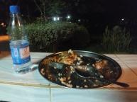 My first dinner